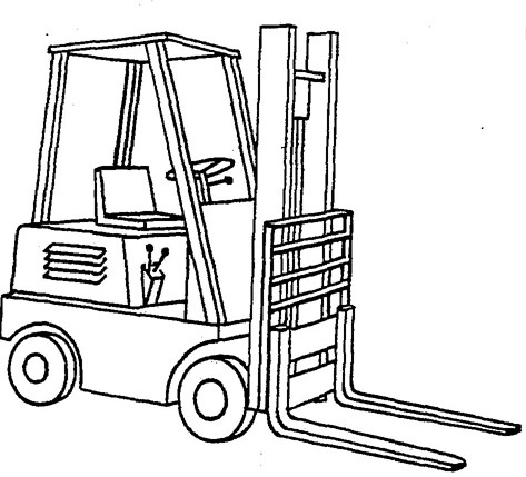 3.5 – 5.0 Tonne 8-Series 4-Wheel Forklift